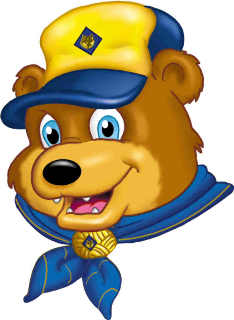 Cub Scout Clip Art Camping Bear Clipart Viewing Gallery   School