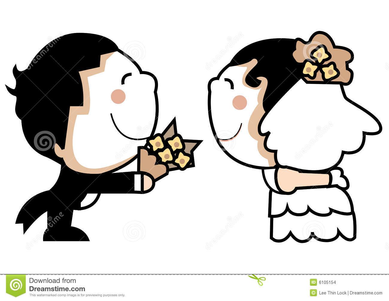 free clipart of wedding couple - photo #26