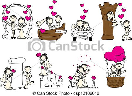 Cute Wedding Clip Art Cliparts