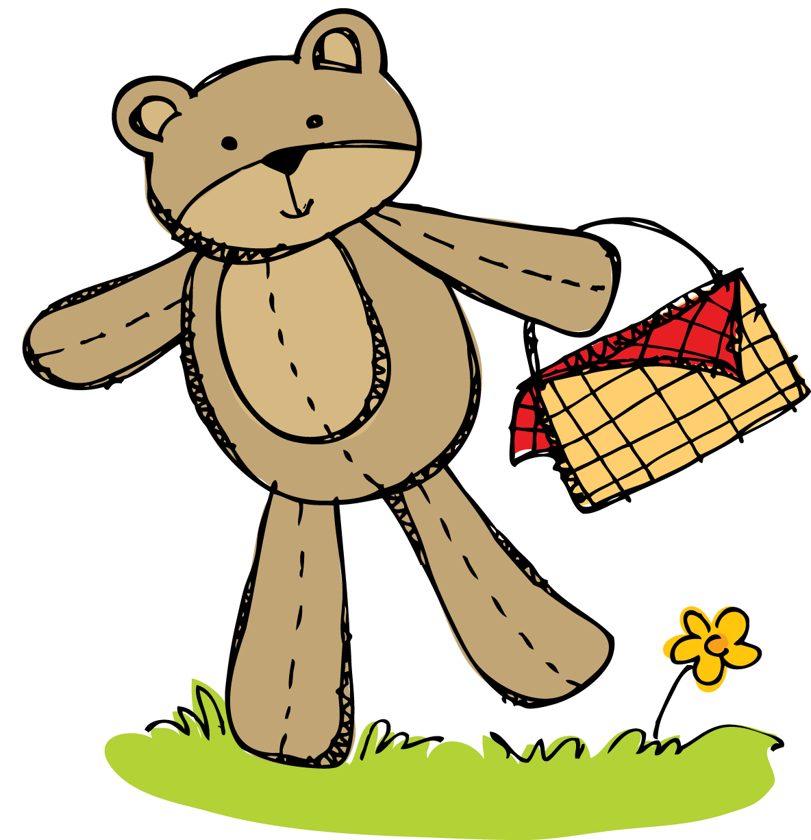Freebie   Teddy Bear Picnic Invitation And April Math Journal On Tpt