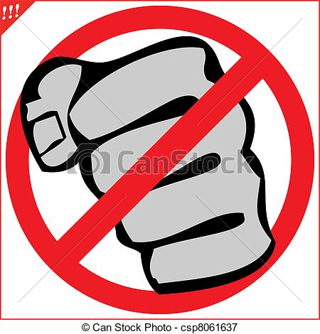 No Fighting Sign Image Gallery no fight...