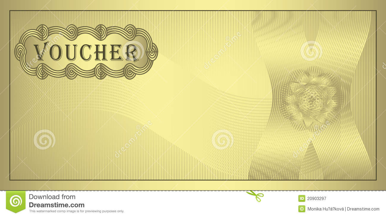 coupon template clipart clipart kid royalty stock photography voucher gold