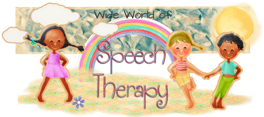 Speech Therapy Clip Art Wide World Of Speech Therapy