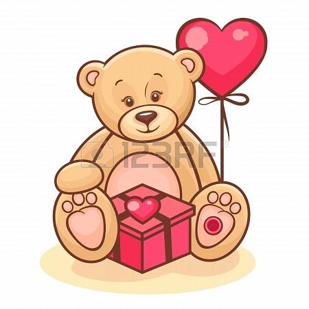 Teddy Bear Birthday Clipart - Clipart Kid