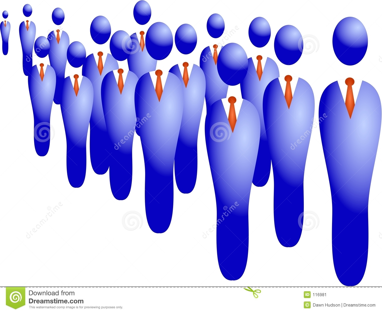 Business Crowd Stock Image   Image  116981