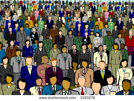 Business People Large Crowd Stock Photo 2193276   Shutterstock
