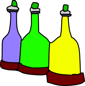 Cartoon Bottles Clip Art At Clker Com   Vector Clip Art Online