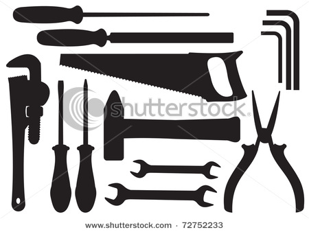 Black Tool Clipart - Clipart Kid