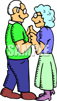 Senior Couples Clipart - Clipart Kid