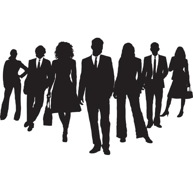 Crowd Of People Silhouette   Clipart Panda   Free Clipart Images