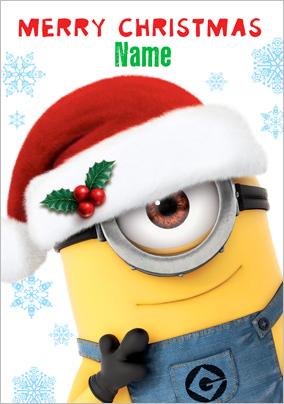 Minion christmas clipart merry christmas minion clipart clipart kid