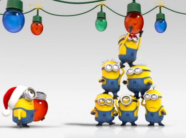 Despicable Me 2  Teaser Trailers  Football And Christmas