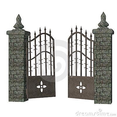 Gothic Graveyard Clipart - Clipart Kid