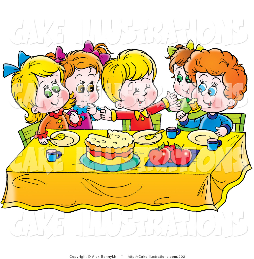 Eating Cake Clipart - Clipart Kid