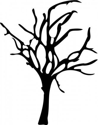 Halloween Small Dead Tree Free Vector In Open Office Drawing Svg