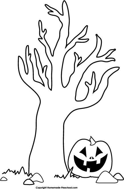 Home   Free Clipart   Halloween Clipart   Halloween Tree