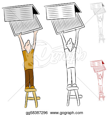 Home Heat And Cooling Air Filter  Clipart Illustrations Gg58387296
