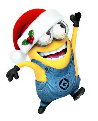 Jumping For Joy At Christmas   Minions  Christmas   Minionland