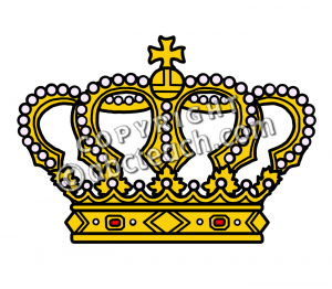 Medieval Crown Clipart Clip Art  Medieval History  Crown Color 2