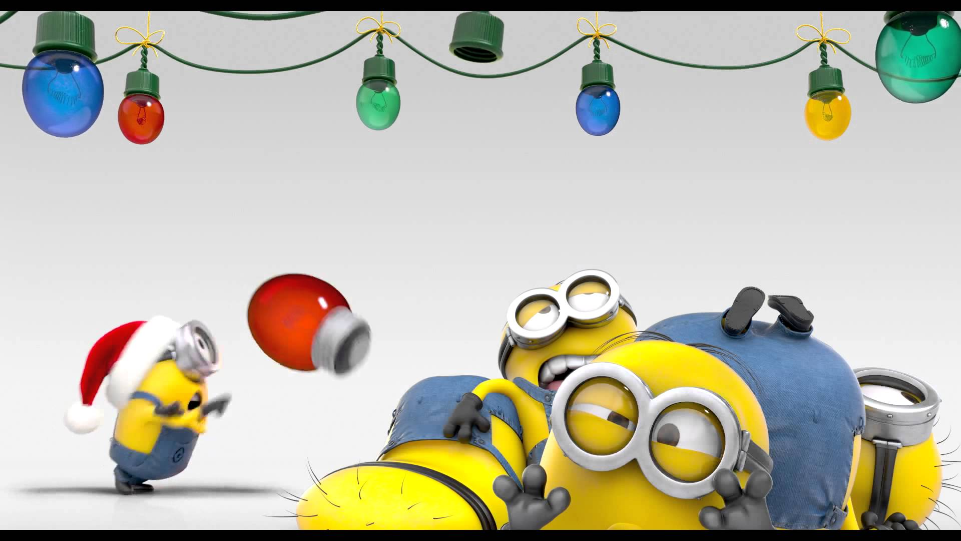 Minions Merry Christmas   Youtube