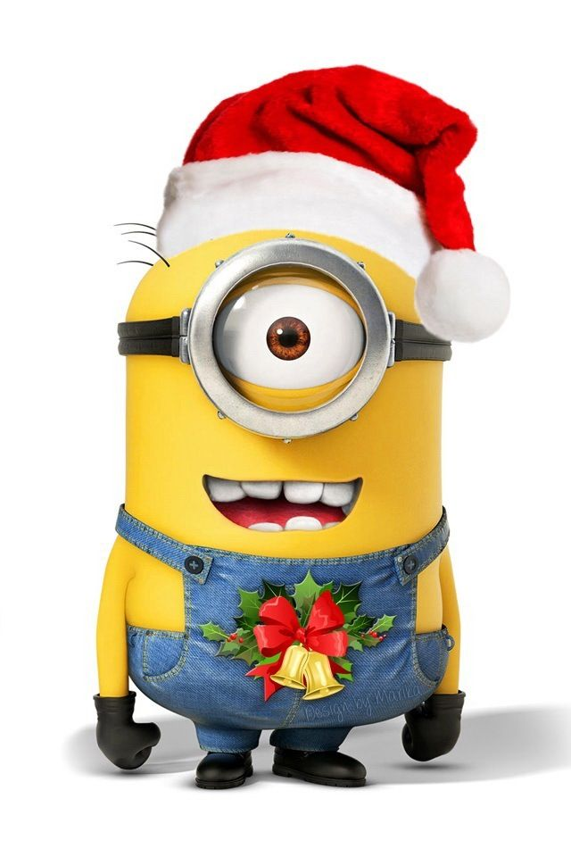 Minions Say Merry Christmas         Minions