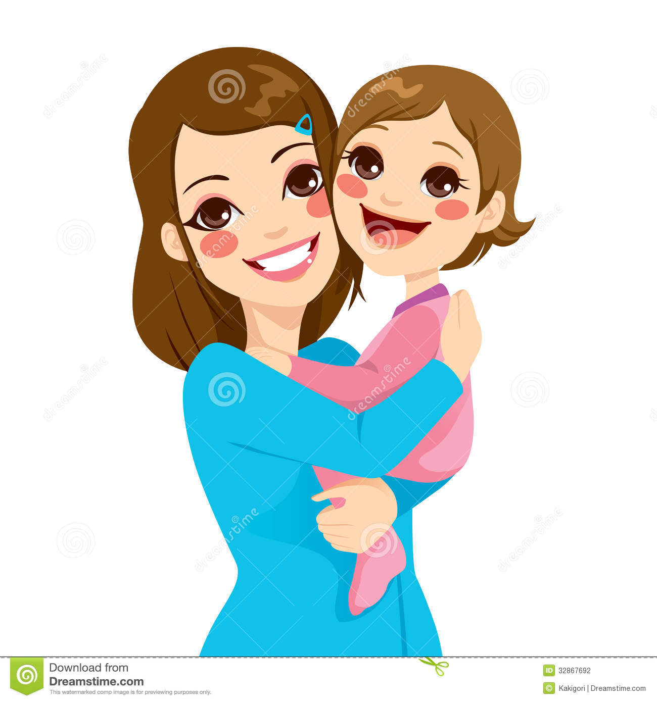 Cartoon Mother Clipart - Clipart Kid