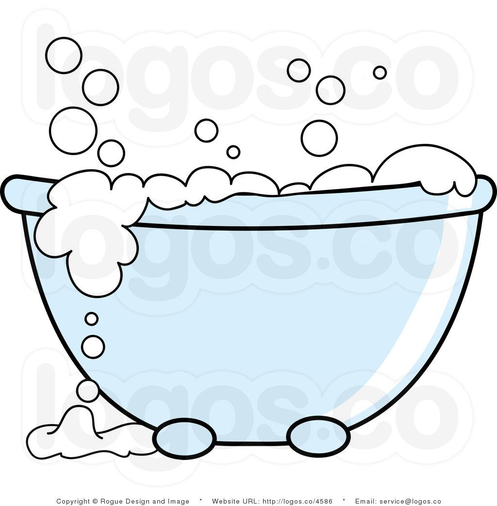 Hillbilly Bubble Bath Clipart