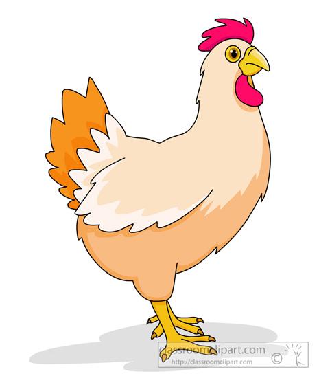 Chicken Clipart Farm Animal Classroom