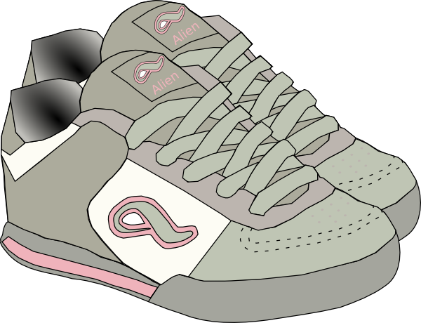 Clothing Shoes Sneakers Clip Art At Clker Com   Vector Clip Art Online