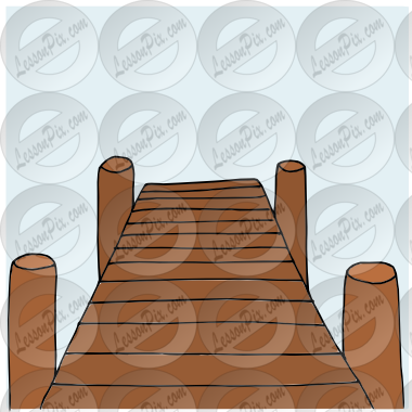 Dock Picture For Classroom   Therapy Use   Great Dock Clipart