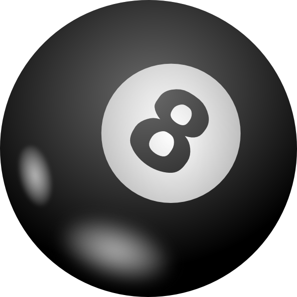 Eight Ball Clip Art At Clker Com   Vector Clip Art Online Royalty
