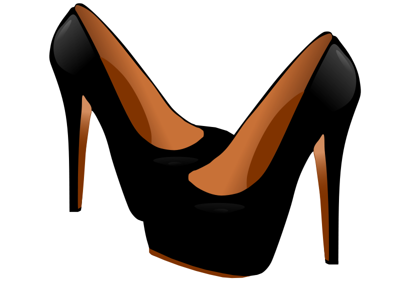 Free High Heel Shoes Clip Art