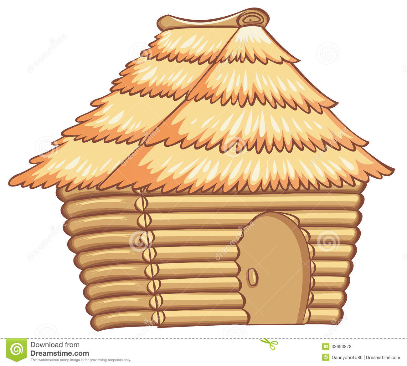 Clipart Of Hut