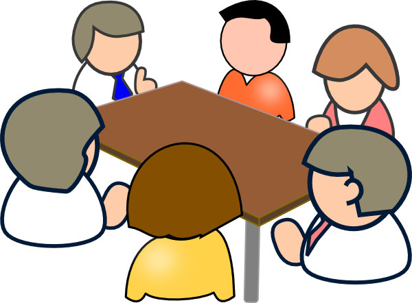 Meeting 2 Clip Art At Clker Com   Vector Clip Art Online Royalty Free