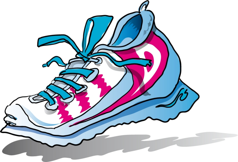 Clip Art Running Shoes Clip Art running shoes clipart kid nike panda free images