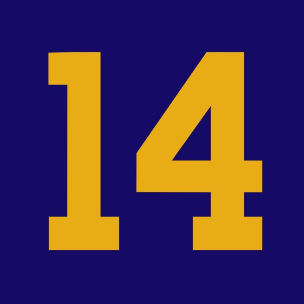 Number 14 Clipart Number 14 Inside A Square