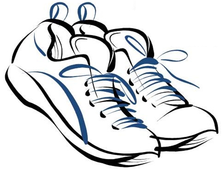 Clip Art Running Shoes Clip Art running shoes clipart kid drawing panda free images