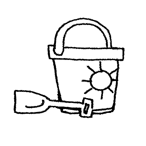 Sand Bucket Clipart Black And White Bucket Clipart Cg Bucket And