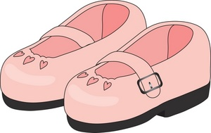 Walking Shoes Free Clipart - Clipart Kid