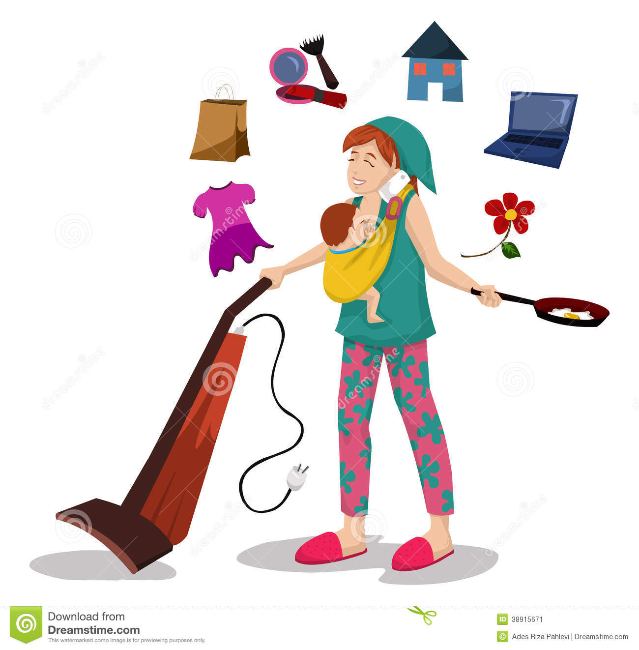 Clip Art Busy Working Mom Clipart - Clipart Suggest