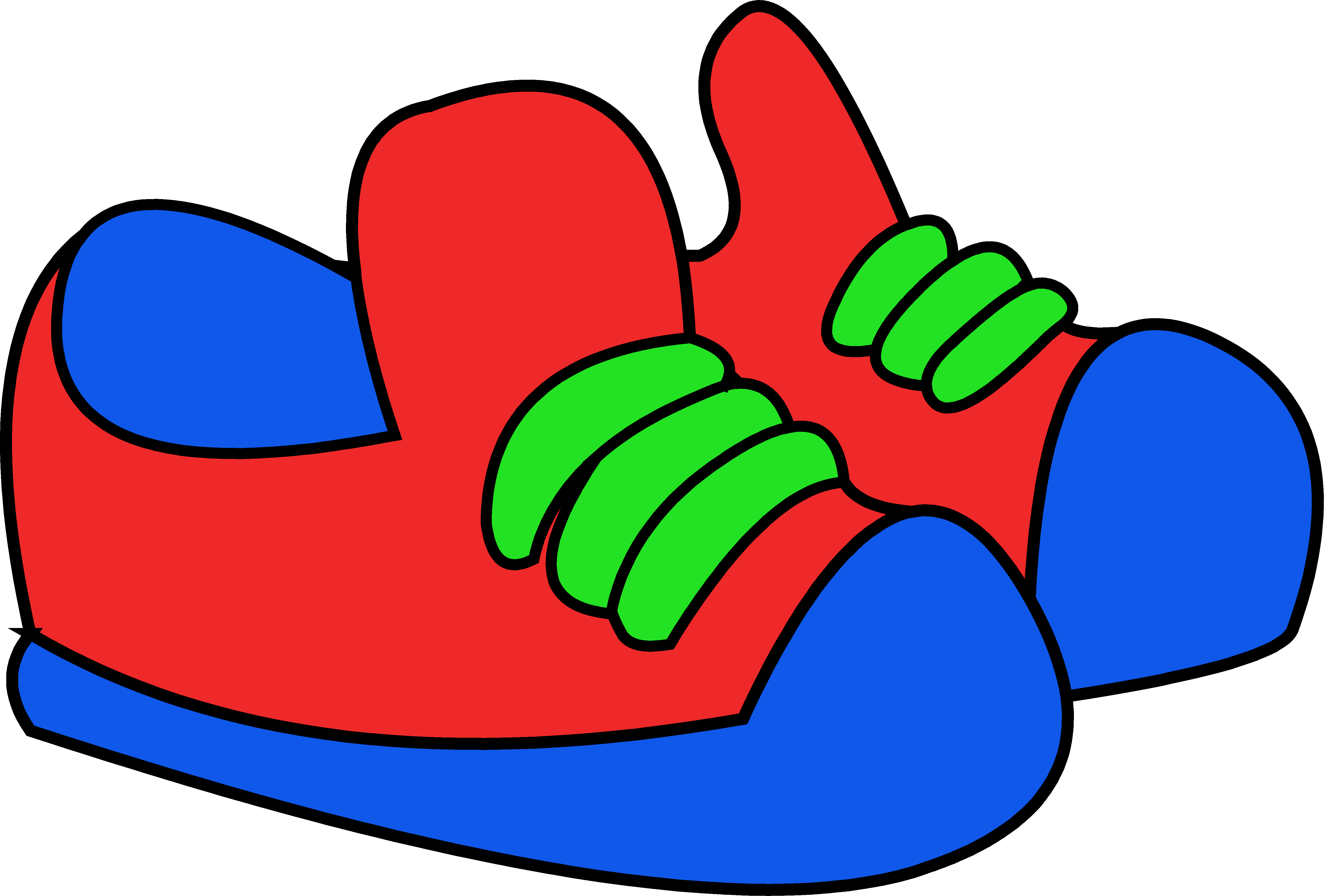 Red Sneakers Clip Art