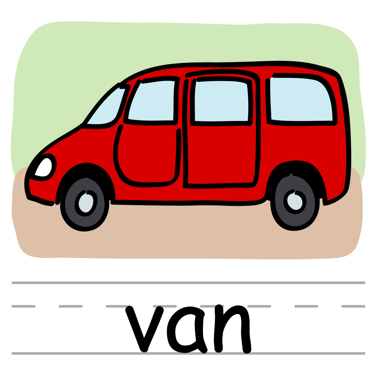 Van Cartoon Clipart - Clipart Kid