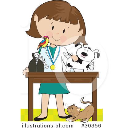 Clip Art Veterinarian Clipart animal vet clipart kid veterinarian 30356 by maria bell royalty free rf stock