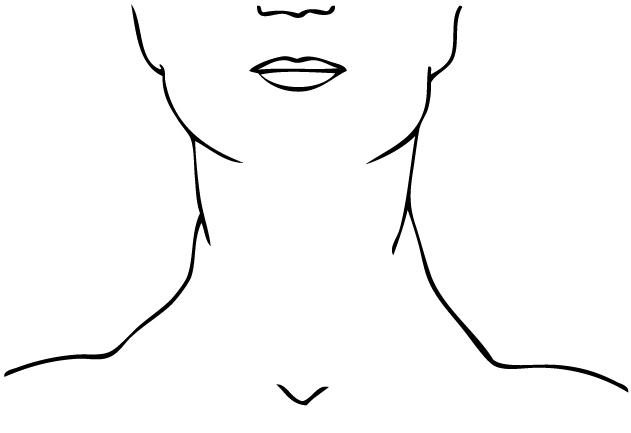 Neck Black And White Clipart - Clipart Kid