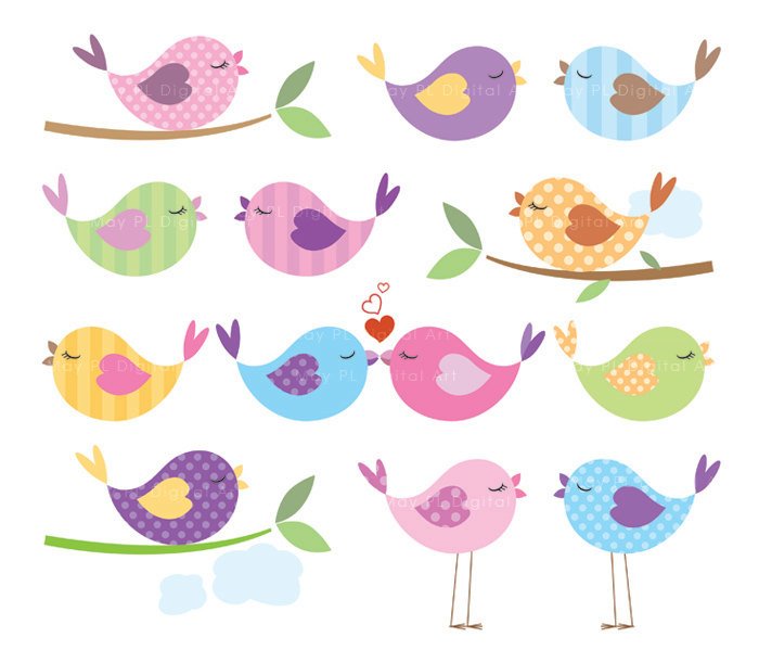 Baby Bird Clip Art   Item 4   Vector Magz   Free Download Vector