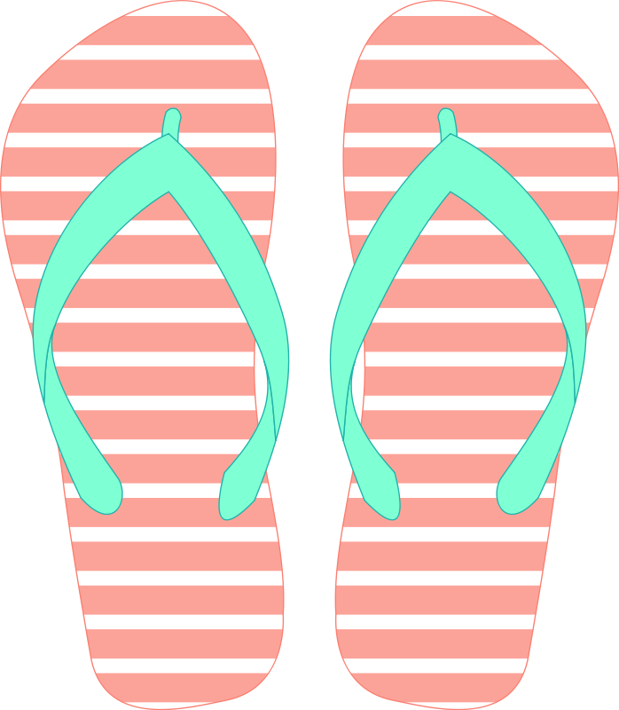 Clip Art Flip Flop Clipart flip flop clipart kid back gallery for simple clip art