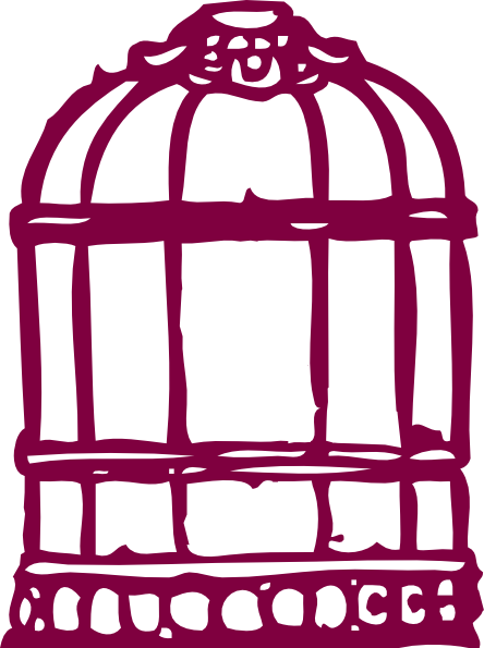 Bird Cage Clip Art At Clker Com   Vector Clip Art Online Royalty Free