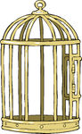 Bird Cage Illustrations And Clip Art  2286 Bird Cage Royalty Free