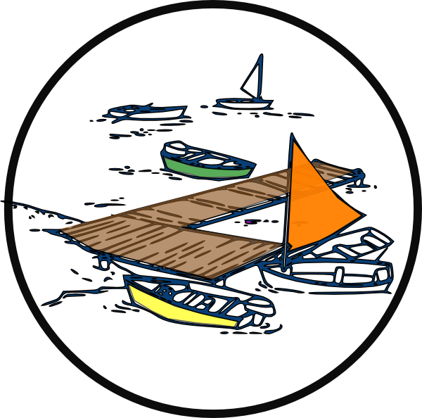 Boat Dock Clip Art At Clker Com   Vector Clip Art Online Royalty Free