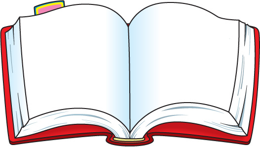 open book with words clipart clipart kid